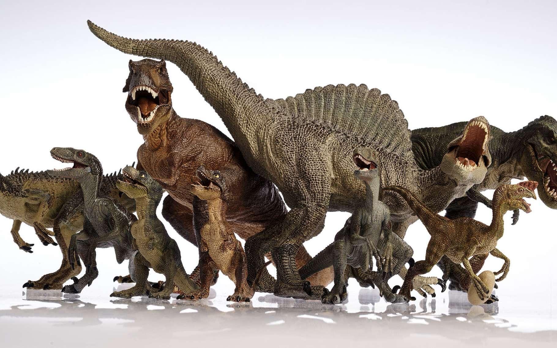 Les dinosaures étaient très diversifiés. © Metha1819, Shutterstock