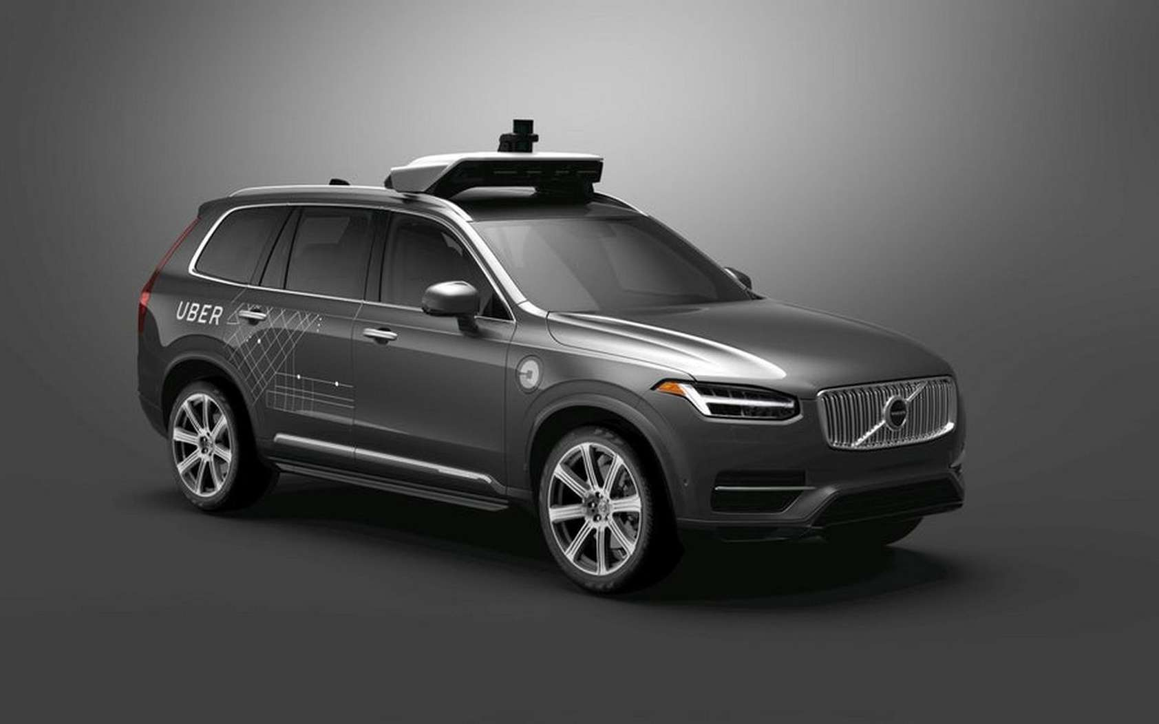 Uber collabore depuis 2016 avec Volvo sur la voiture autonome et utilisait déjà le SUV XC90. © Volvo