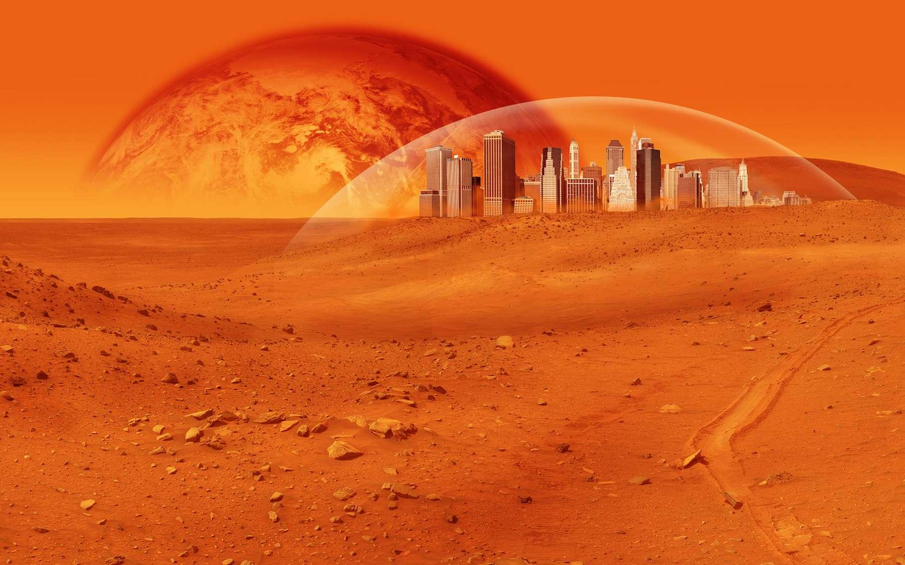 PlanèteCes bactéries pourront aider l'être humain à coloniser Mars - Futura