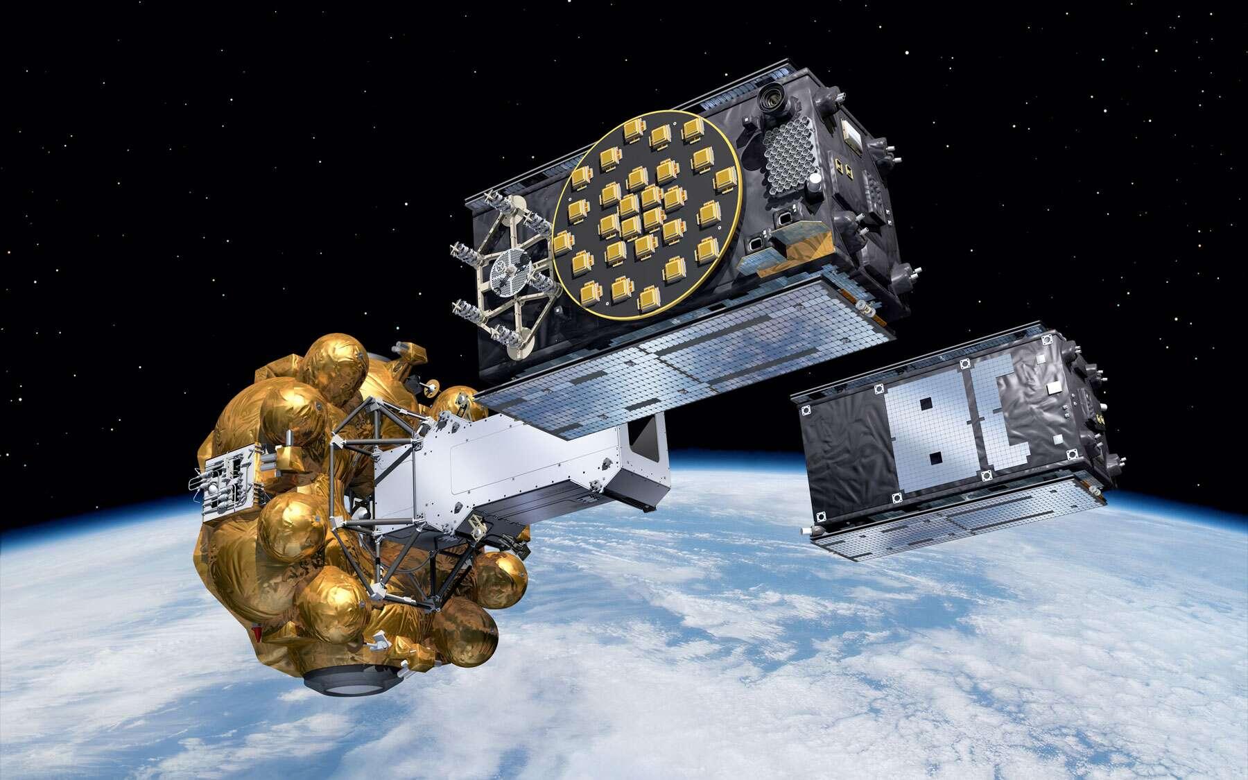 L'étage Fregat est bien à l'origine de l'échec de la mise en orbite des deux satellites Galileo. En cause, une partie du carburant qui aurait gelé en plein vol. © Esa