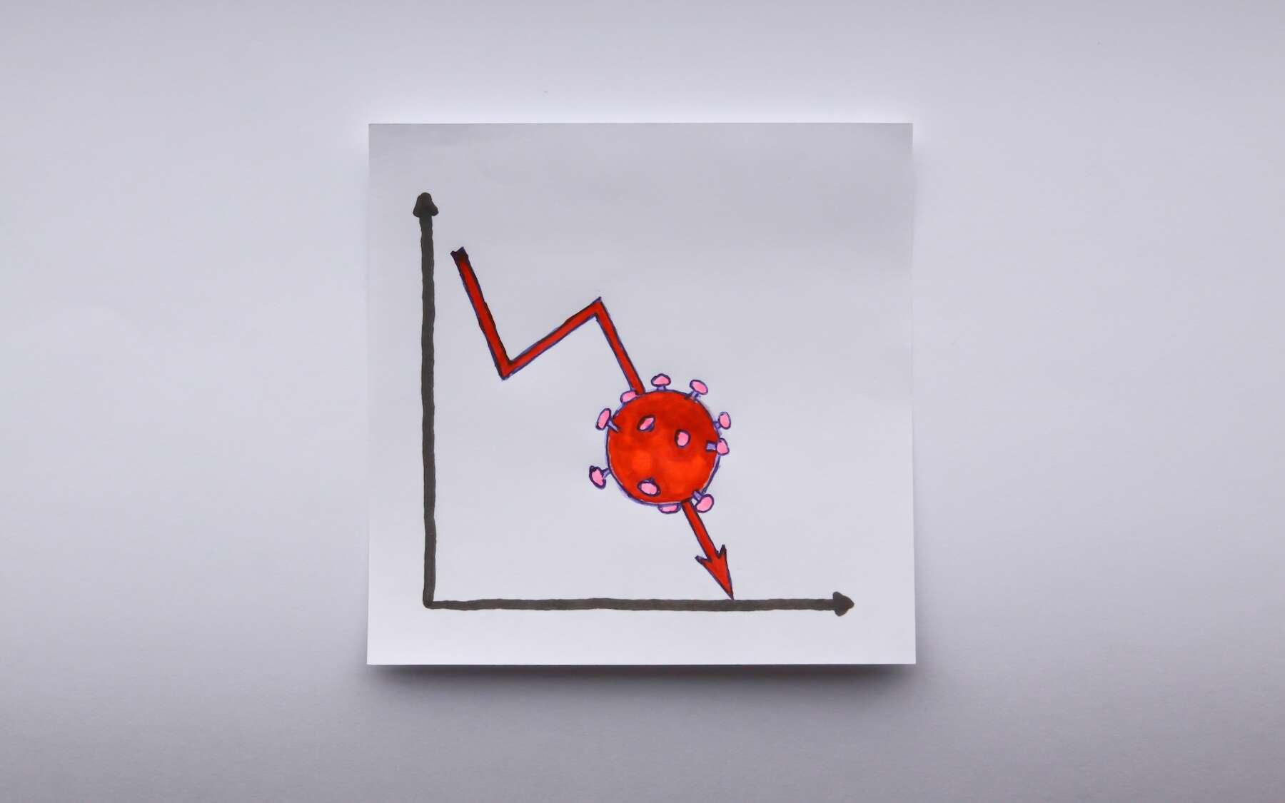 La quatrième vague semble retomber comme un soufflé. © Raul Baldean, Adobe Stock
