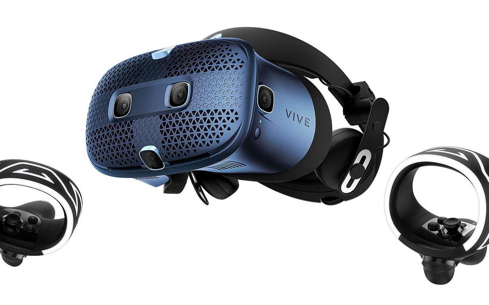 Le casque HTC Vive Cosmos est modulable et peut également devenir le Vive Elite. © HTC