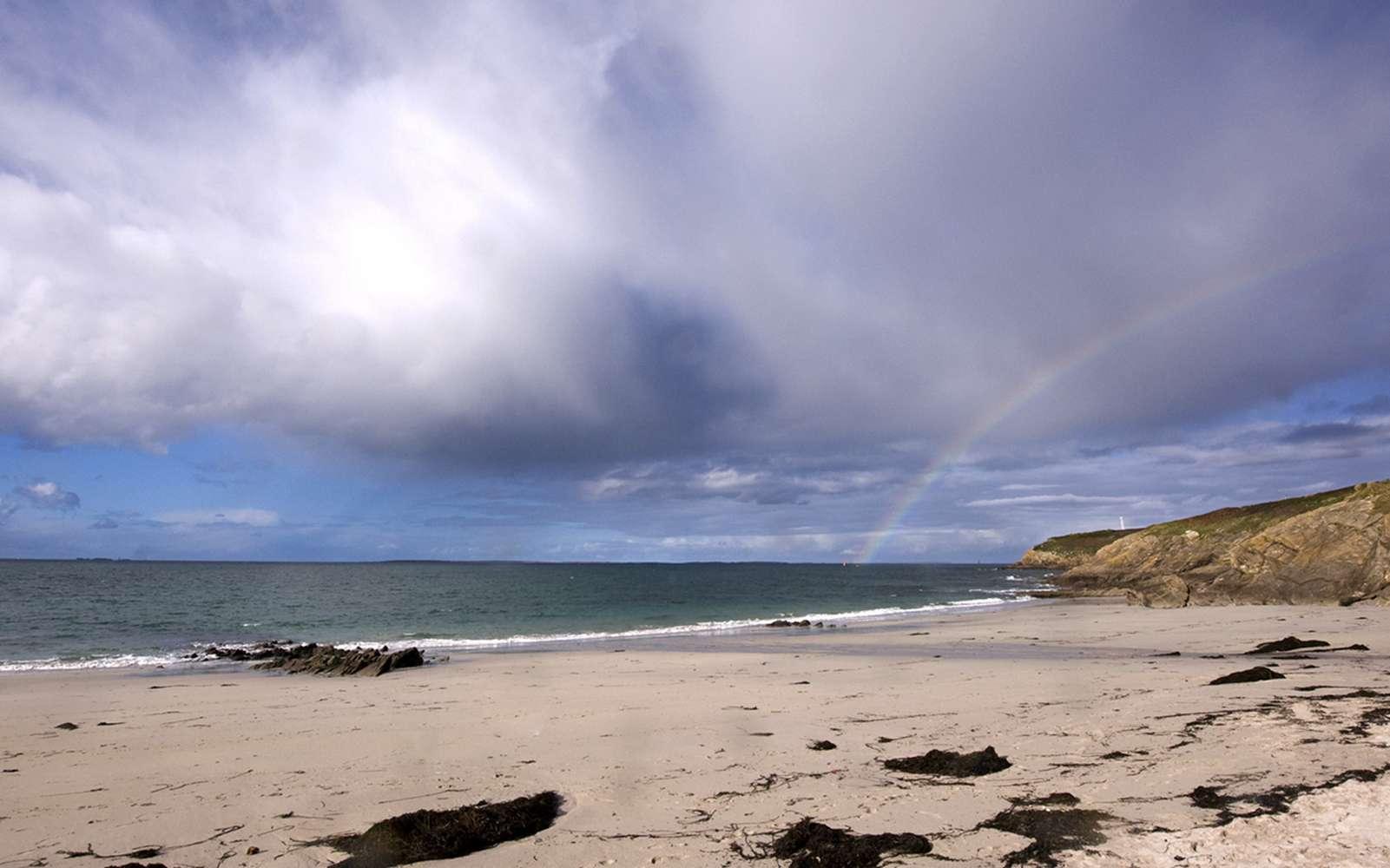 Le point sur l'érosion des plages bretonnes. Vers la pointe Saint-Mathieu. © Ghislaine Laussel, Créafolios