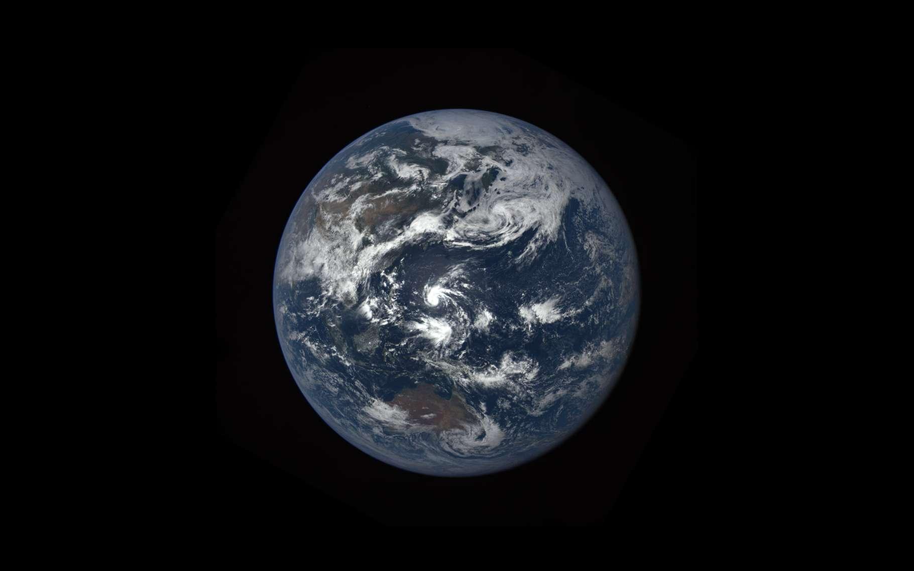 La Terre vue depuis le satellite DSCOVR de la Nasa. © Nasa, Epic Science team