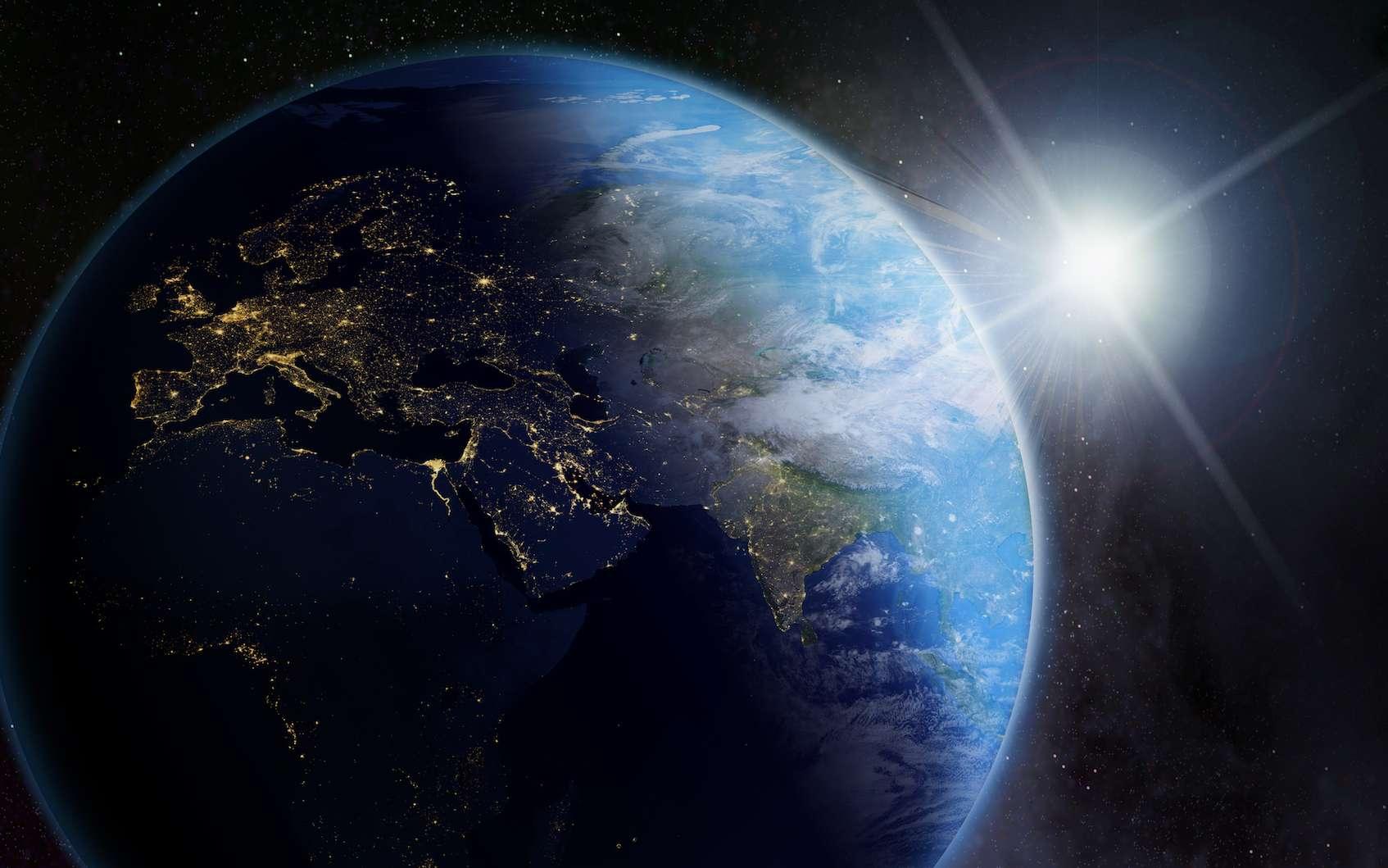 Quelle est la vitesse de la Terre autour du Soleil? À quelle vitesse nous déplaçons-nous dans l'univers? © Mike Mareen, fotolia