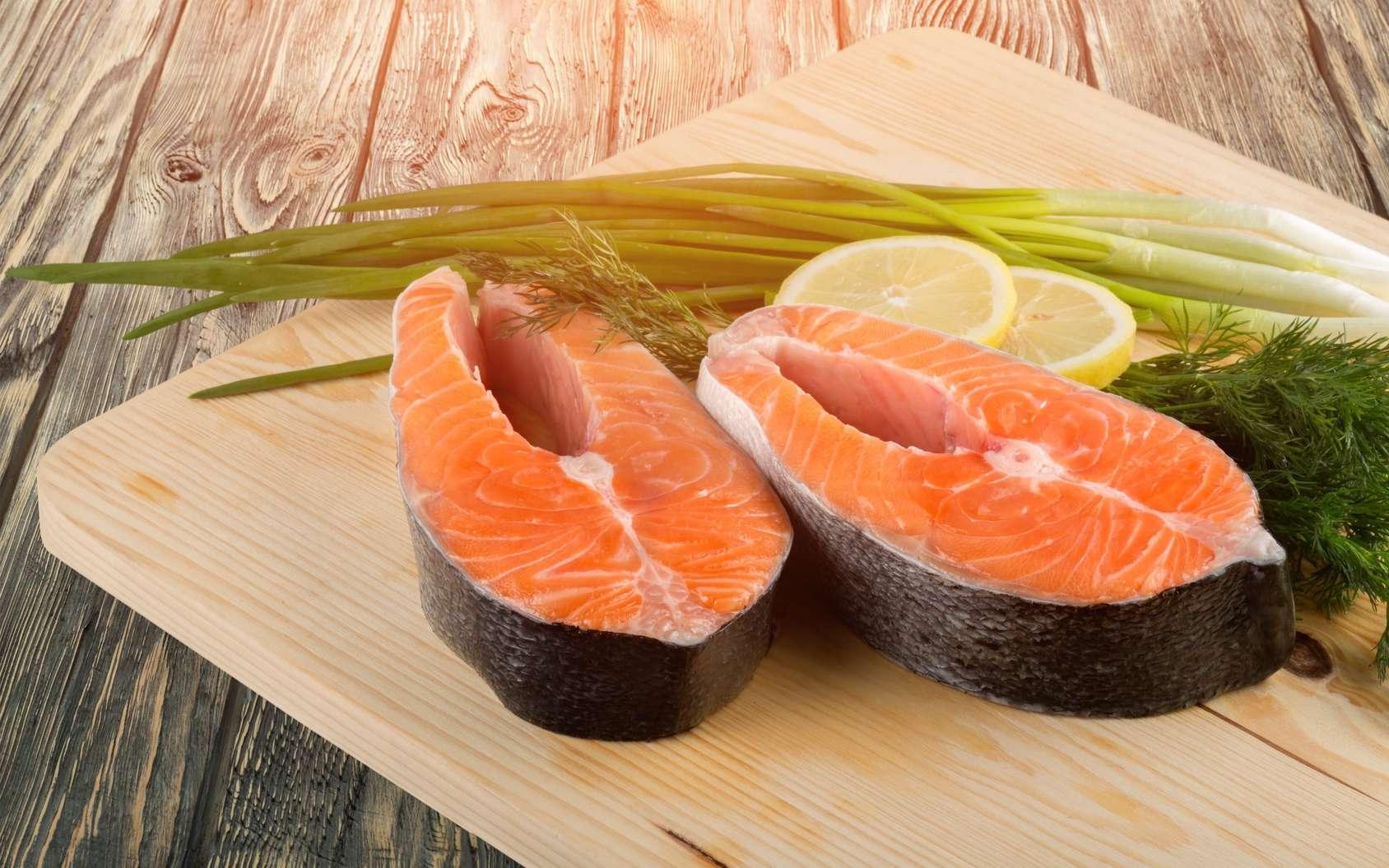 Le maquereau, la sardine, le saumon sont des poissons gras. Le merlan, la sole et le cabillaud sont des poissons maigres. © BillionPhotos.com, Fotolia