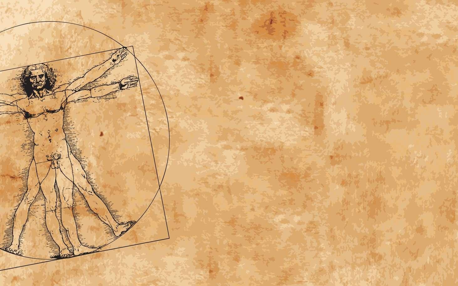 Léonard de Vinci est né à Vinci le 15 avril 1452 et est mort à Amboise le 2 mai 1519. Il fut à la fois peintre florentin, scientifique, inventeur, anatomiste, sculpteur, architecte, urbaniste, botaniste, musicien, poète, philosophe et écrivain. Un croquis d'un des ses manuscrits est le premier témoignage de l'existence des fossiles Paleodictyon. © HP_Photo, Fotolia