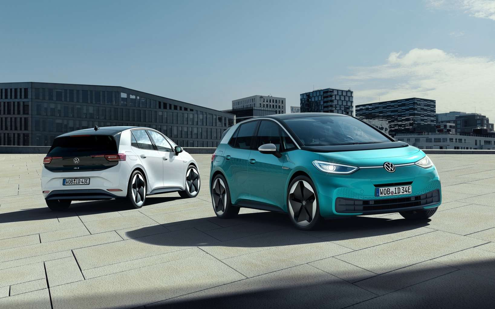 L'ID.3 de Volkswagen. © Volkswagen