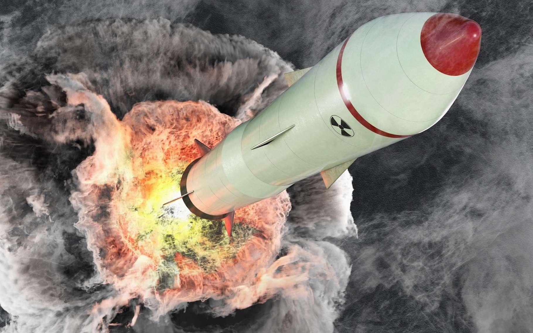 En cas d'attaque nucléaire, la première chose à faire est de trouver refuge à l'intérieur d'un bâtiment solide. © vchalup, Fotolia