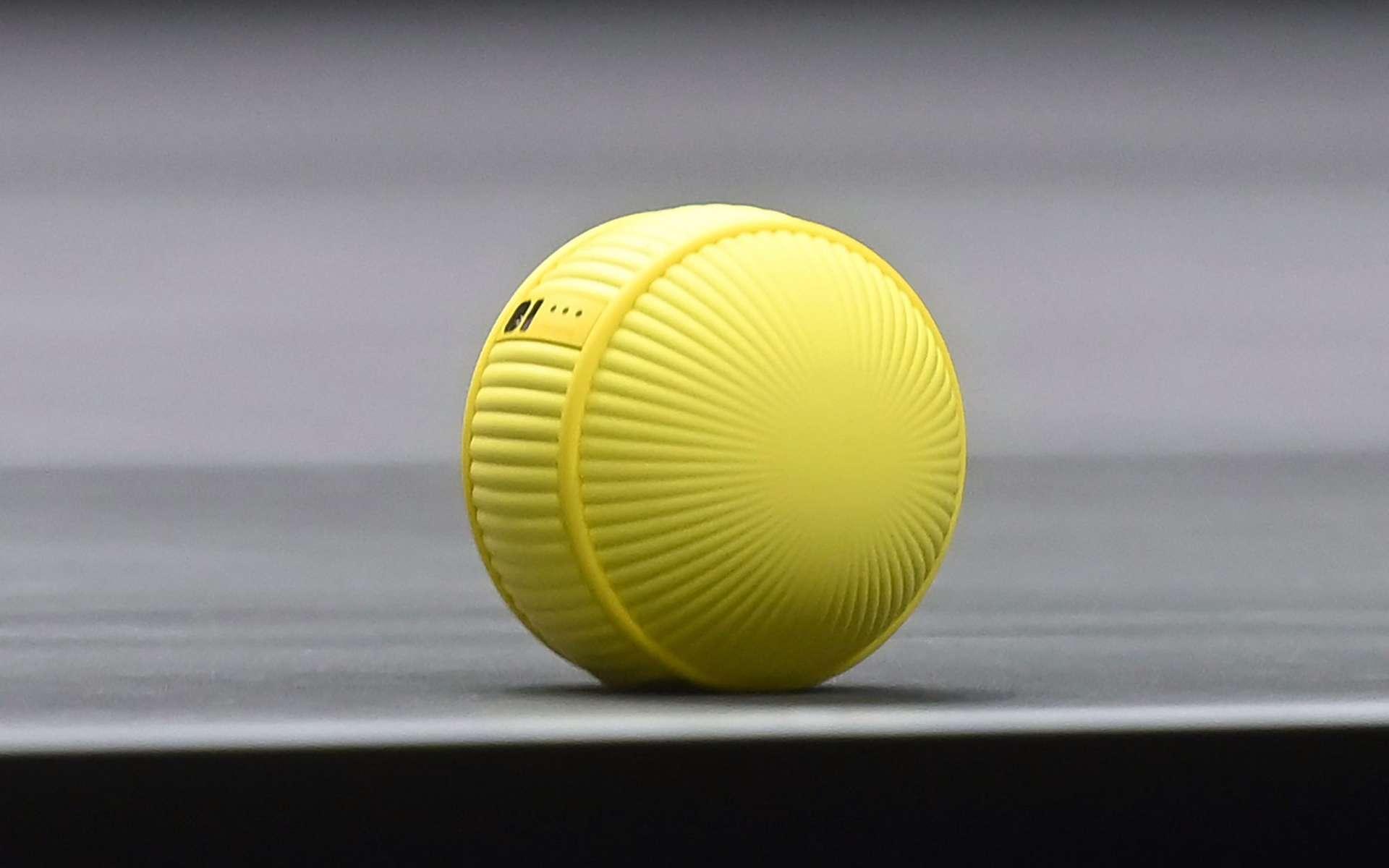 Pour Samsung, Ballie est un compagnon de vie. © Samsung