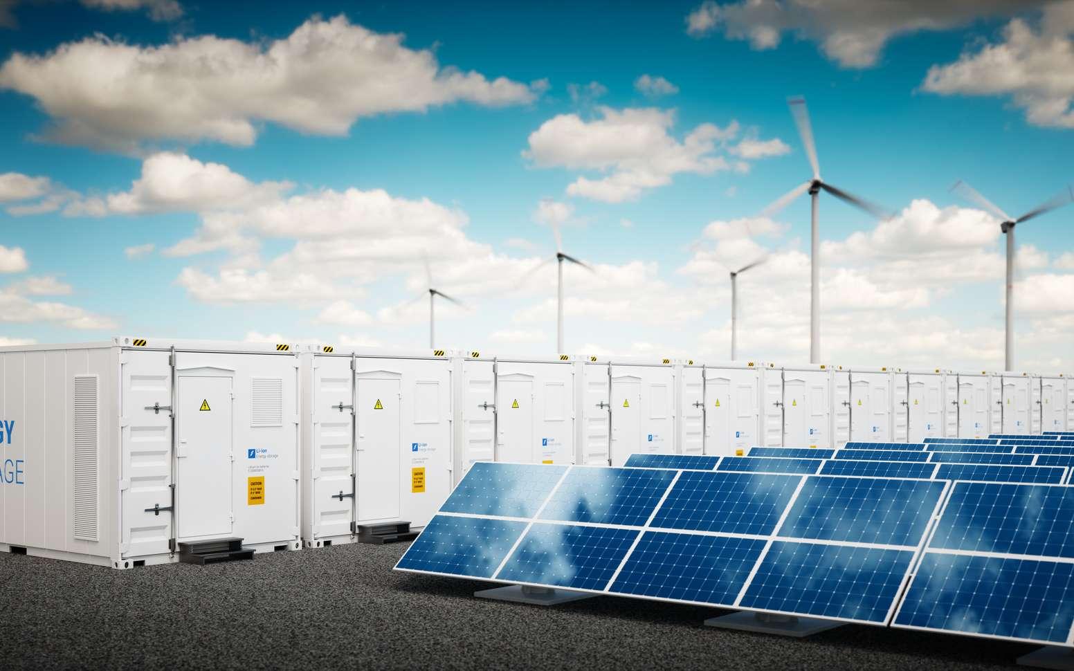Le stockage tampon des énergies renouvelables est le moyen d'assurer un approvisionnement du réseau électrique qui corresponde à la demande. © Malp, Fotolia