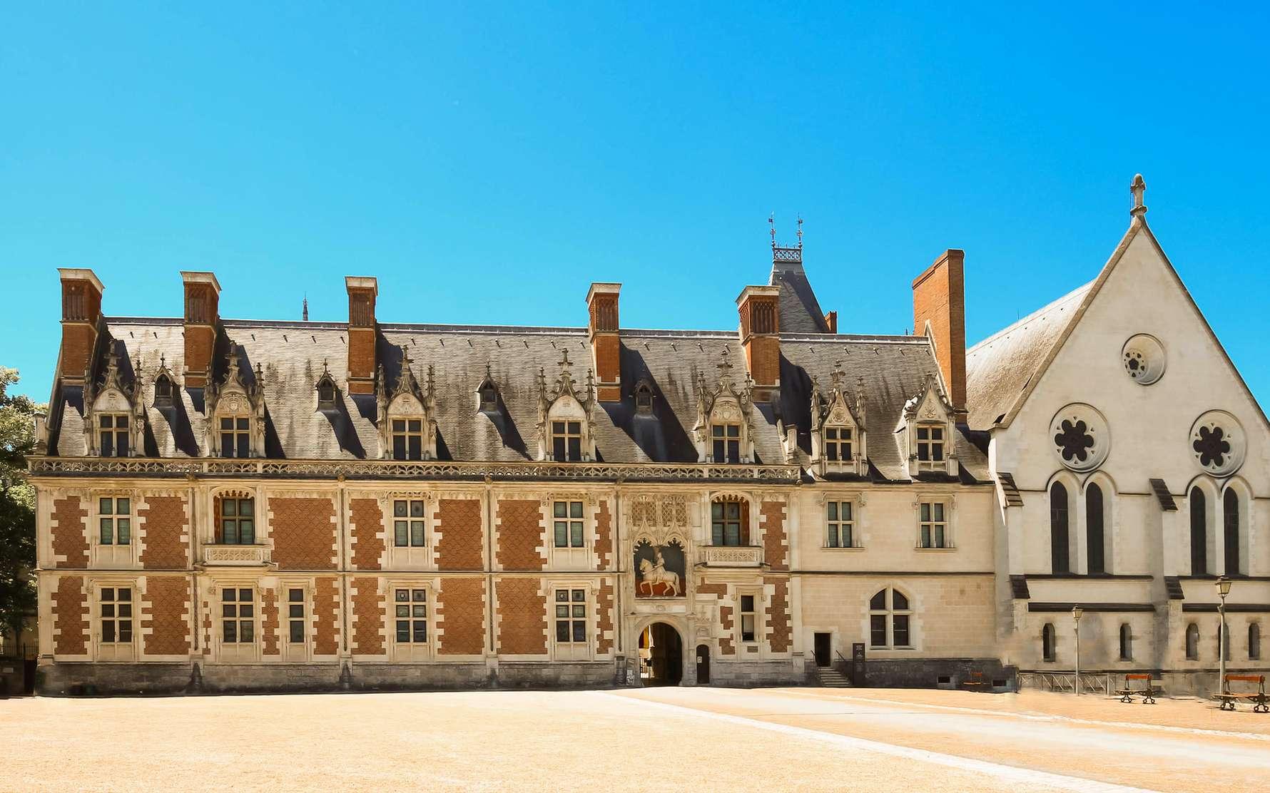 Le château de Blois n'était à l'origine qu'une petite forteresse. © kovalenkovpetr, Fotolia