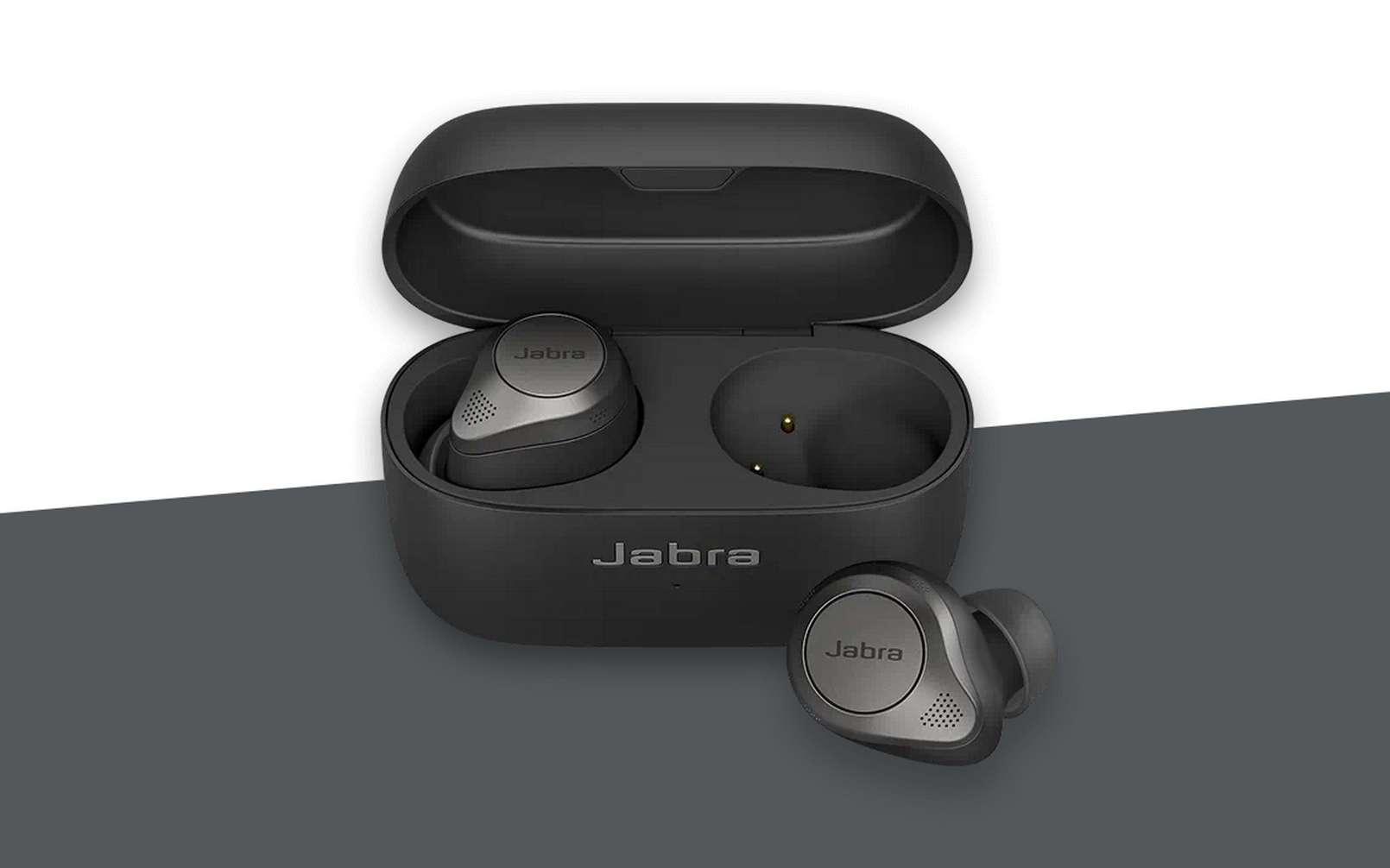 Avec les Elite 85t, Jabra fait son entrée sur le marché des écouteurs Bluetooth à réduction de bruit active. © Jabra