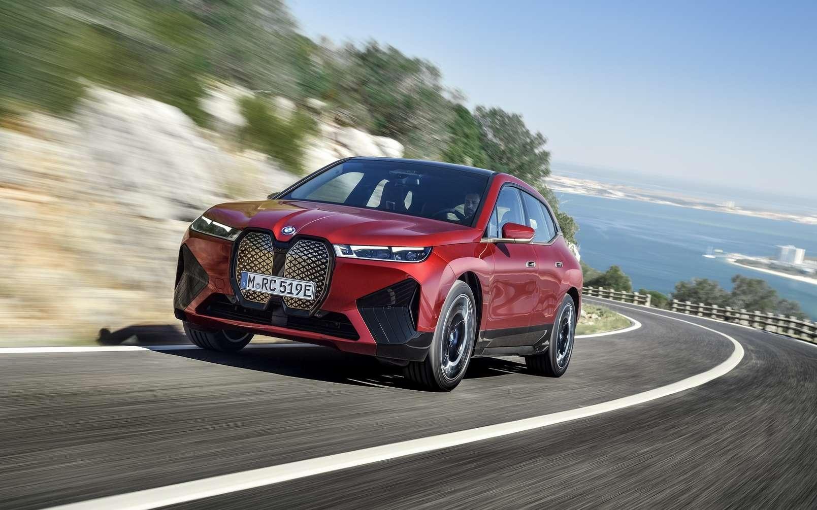 Le BMW iX sera le premier SUV électrique de la marque. © BMW