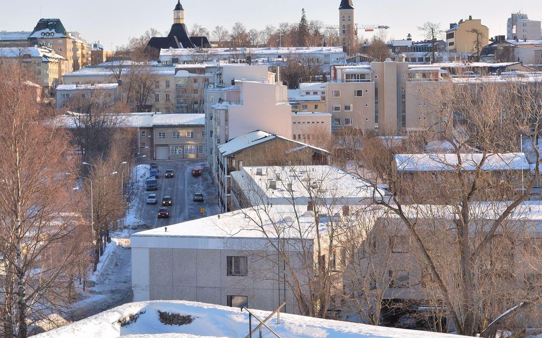 Dans la ville de Lappeenranta, en Finlande, deux immeubles ont été privés de chauffage suite à une attaque informatique qui visait l'infrastructure à laquelle était connecté l'ordinateur chargé de réguler la température et l'eau chaude. © Estea, Shutterstock