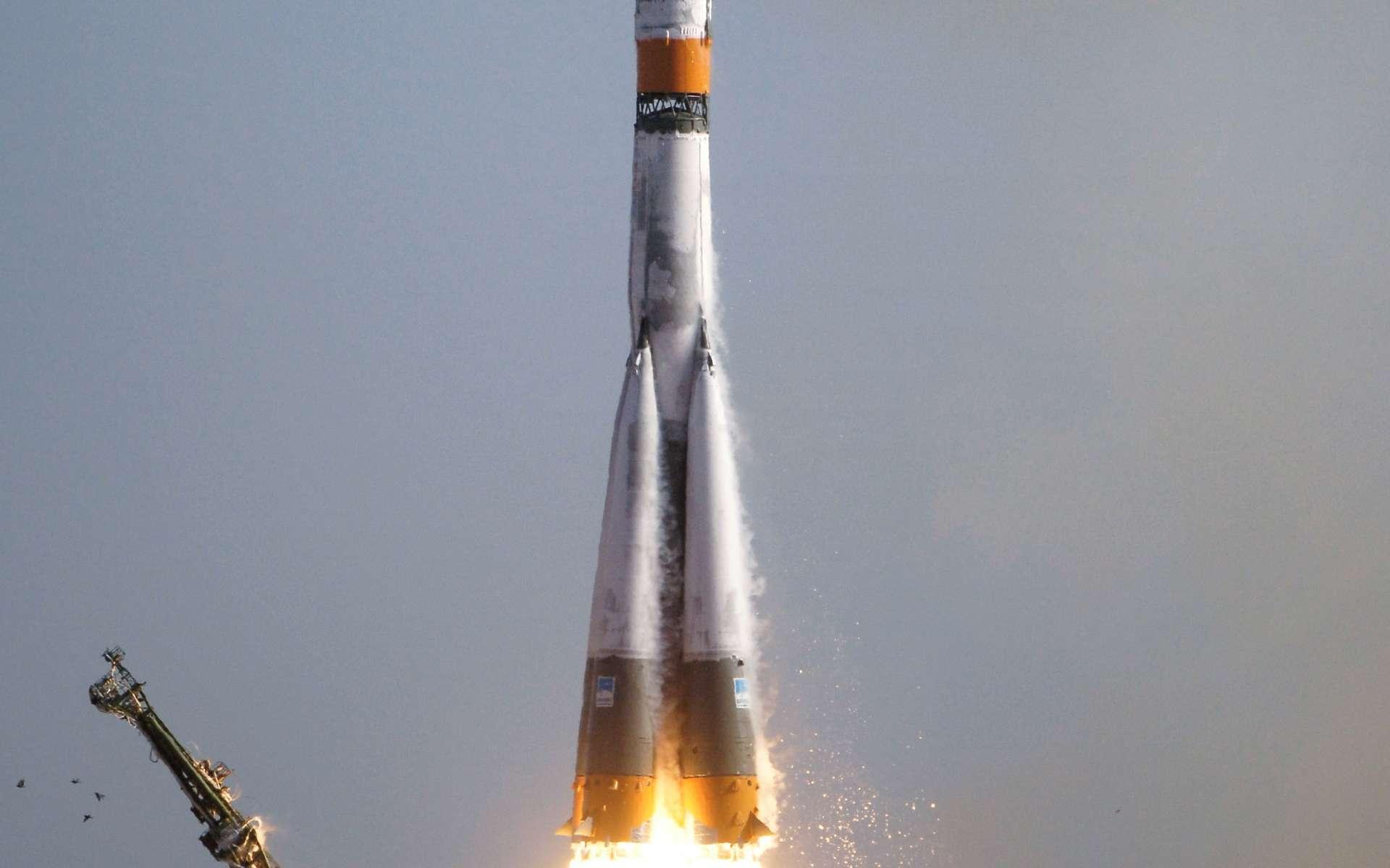 Mission Soyuz TMA-9. © DR