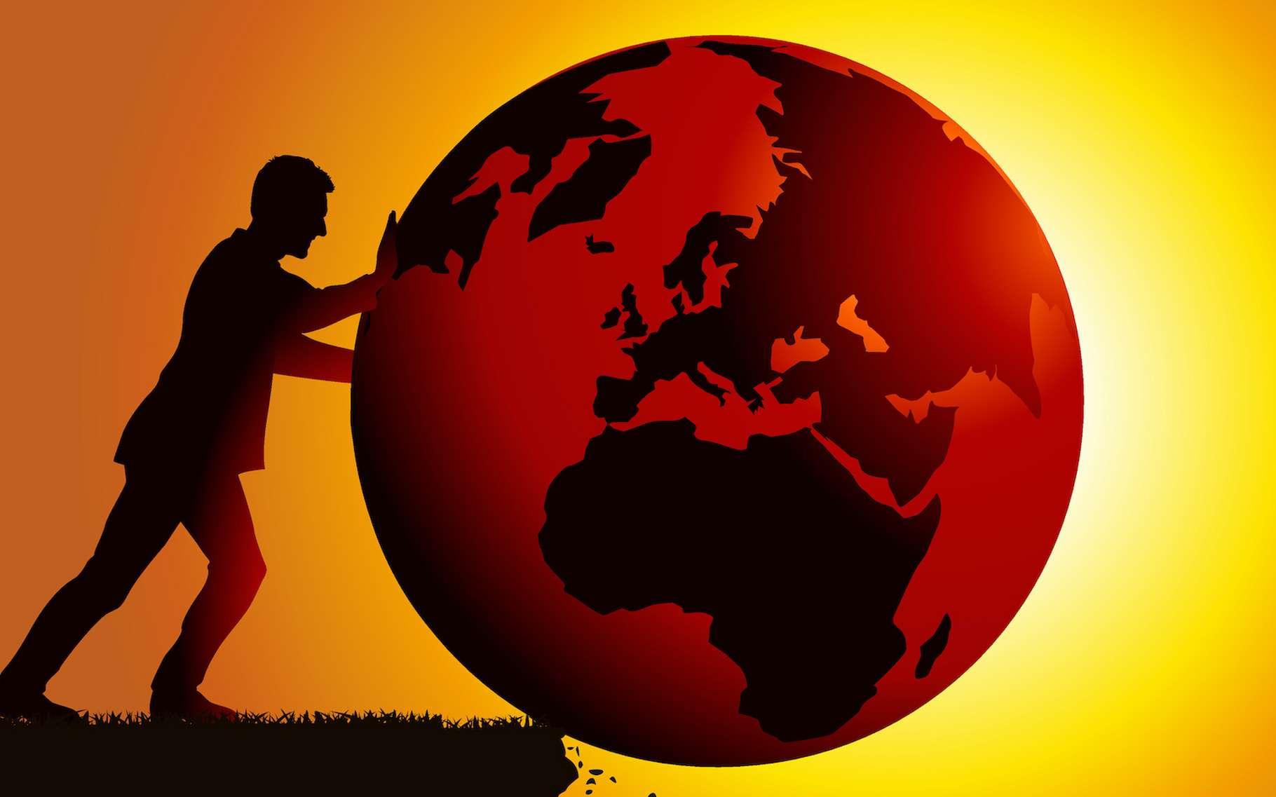 L'humanité continue à pousser la Terre vers son point de non-retour. © pict rider, Adobe Stock