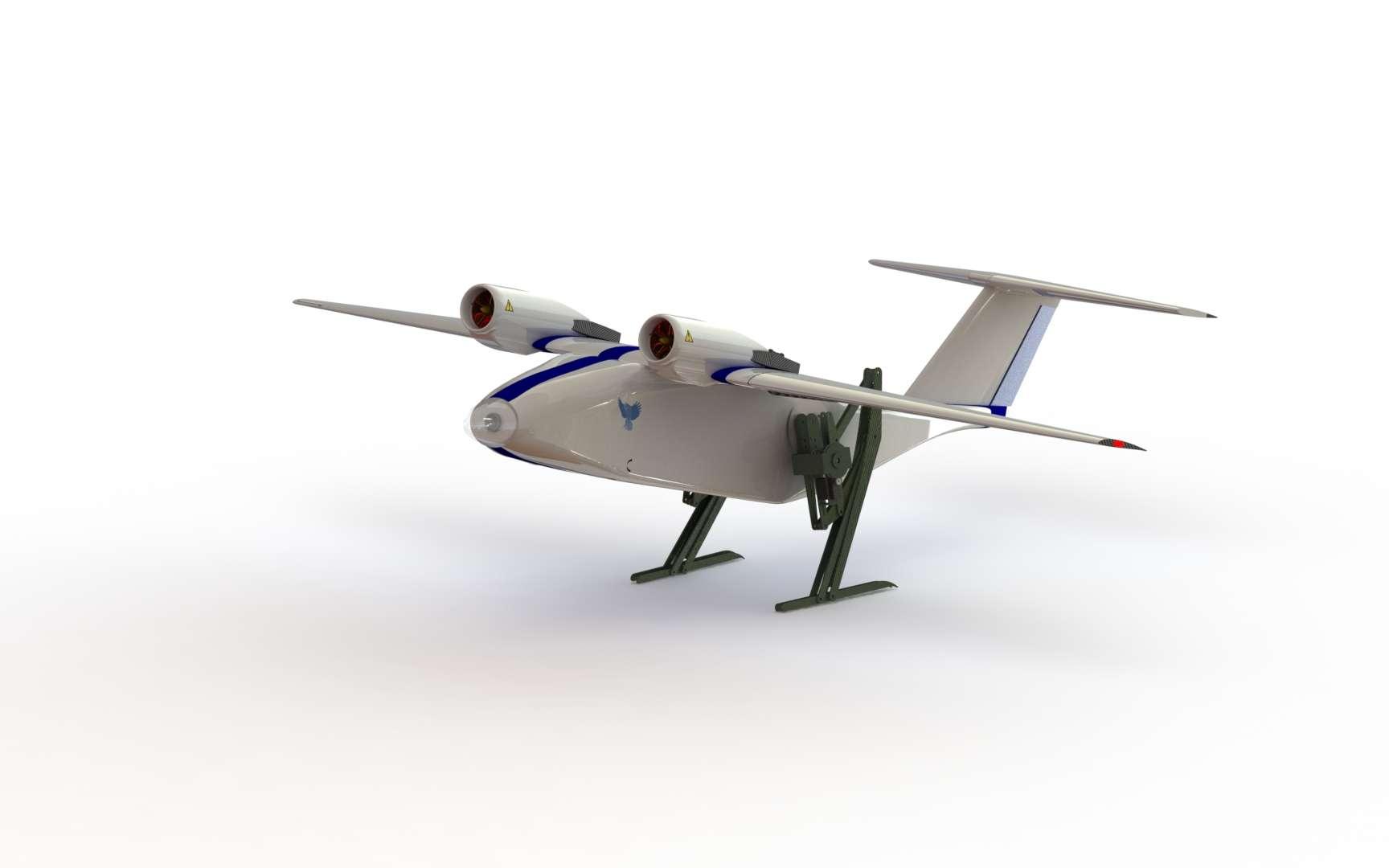 Le drone Sparrow de Passerine Aircraft. © Passerine Aircraft Corp.
