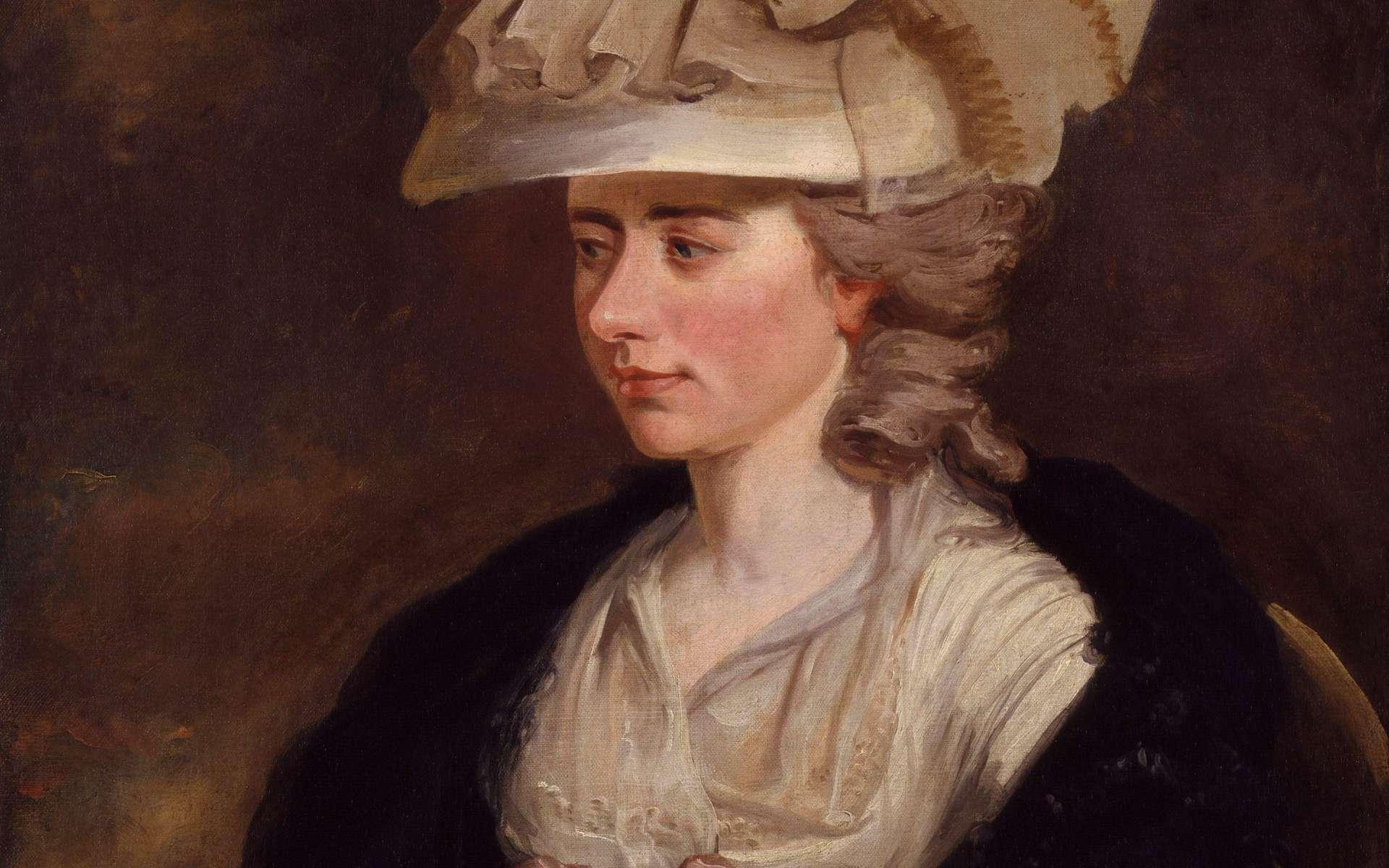 Portrait de Frances Burney © Wikimedia Commons