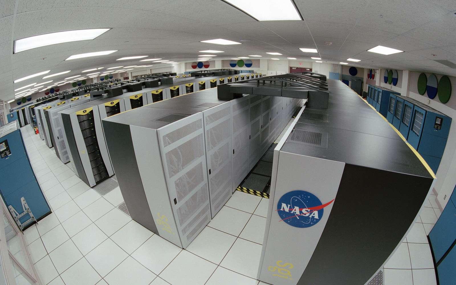 Le supercalculateur de la Nasa, en Californie. © Trower, Nasa, Wikipedia, DP