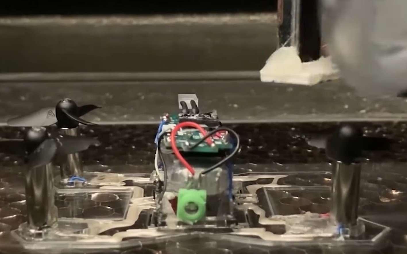 Des drones et des robots fabriqués tout seuls avec la LaserFactory - Futura