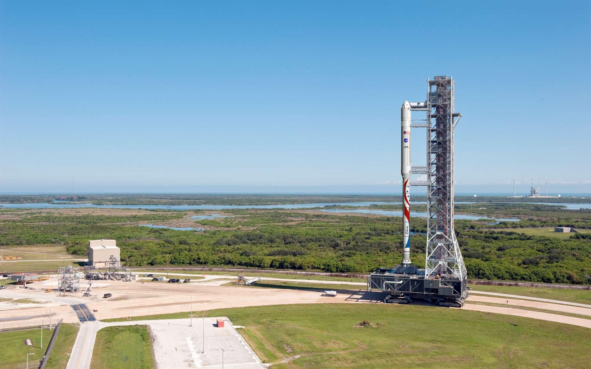 La capsule habitable du lanceur Liberty, que développent ensemble ATK et Astrium, ne sera pas seulement utilisée pour transporter des astronautes à destination de l'ISS. Elle sera commercialisée à qui voudra bien s'acquitter d'une cinquantaine de millions de dollars pour faire des petits séjours dans l'espace. © ATK