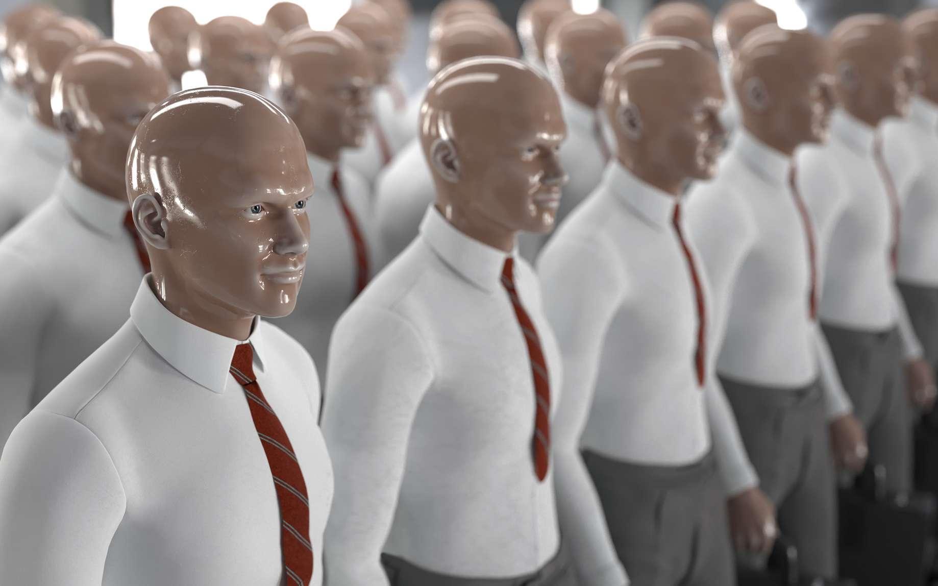 L'existence de robots humanoïdes sonne-t-elle le début d'un Empire Galactique aurorain, ou la fin d'une race humaine devenue obsolète ? © photobank, Fotolia
