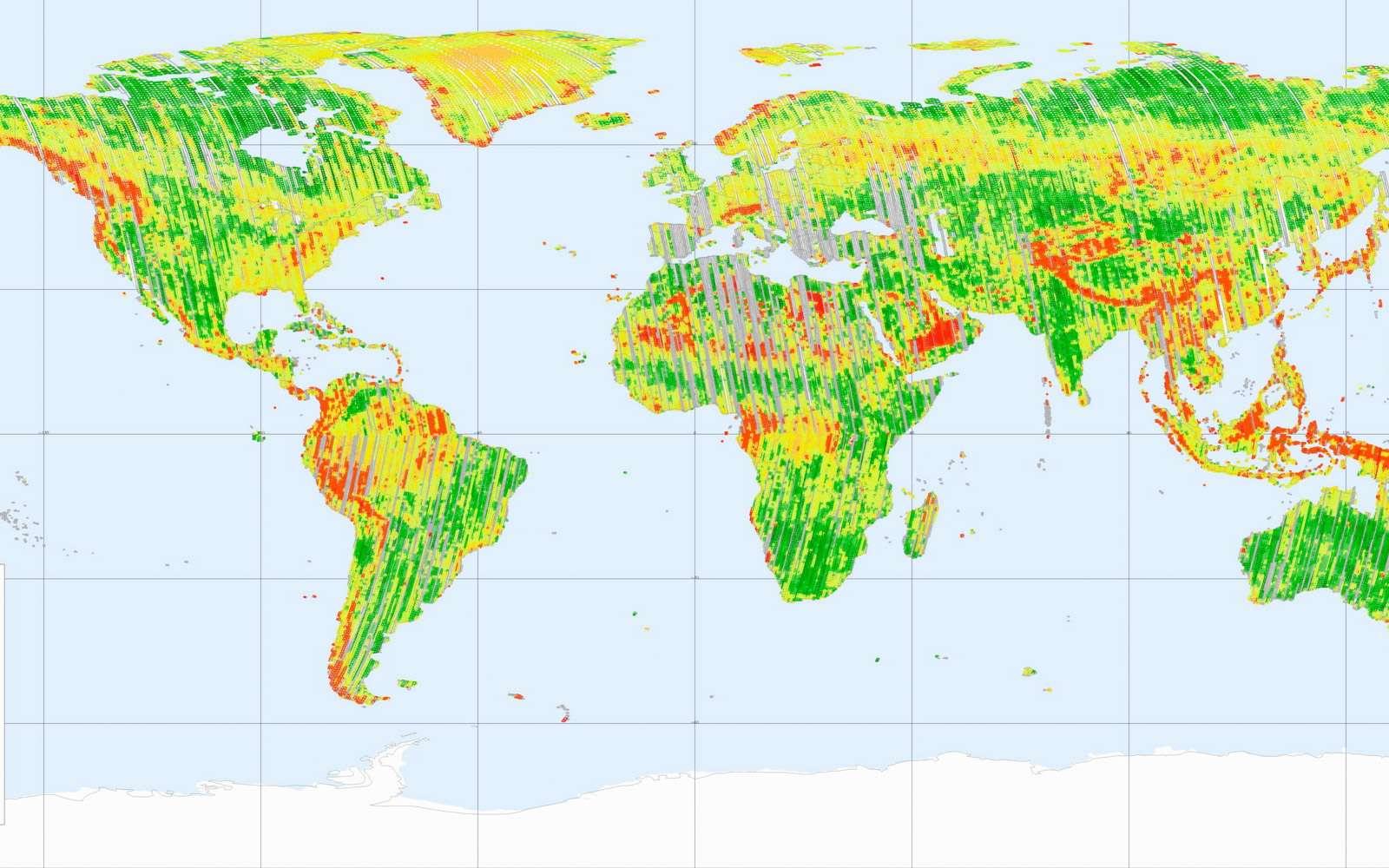 D'ici 2014, les satellites Tandem-X et TerraSAR-X auront cartographié la totalité des terres émergées en 3 dimensions, démontrant une nouvelle fois tout l'intérêt d'utiliser l'espace comme promontoire unique pour observer la Terre. © DLR
