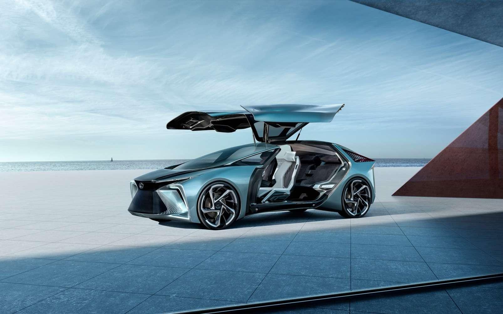 Lexus n'a pas fait dans la demi-mesure pour le design du LF-30. © Lexus