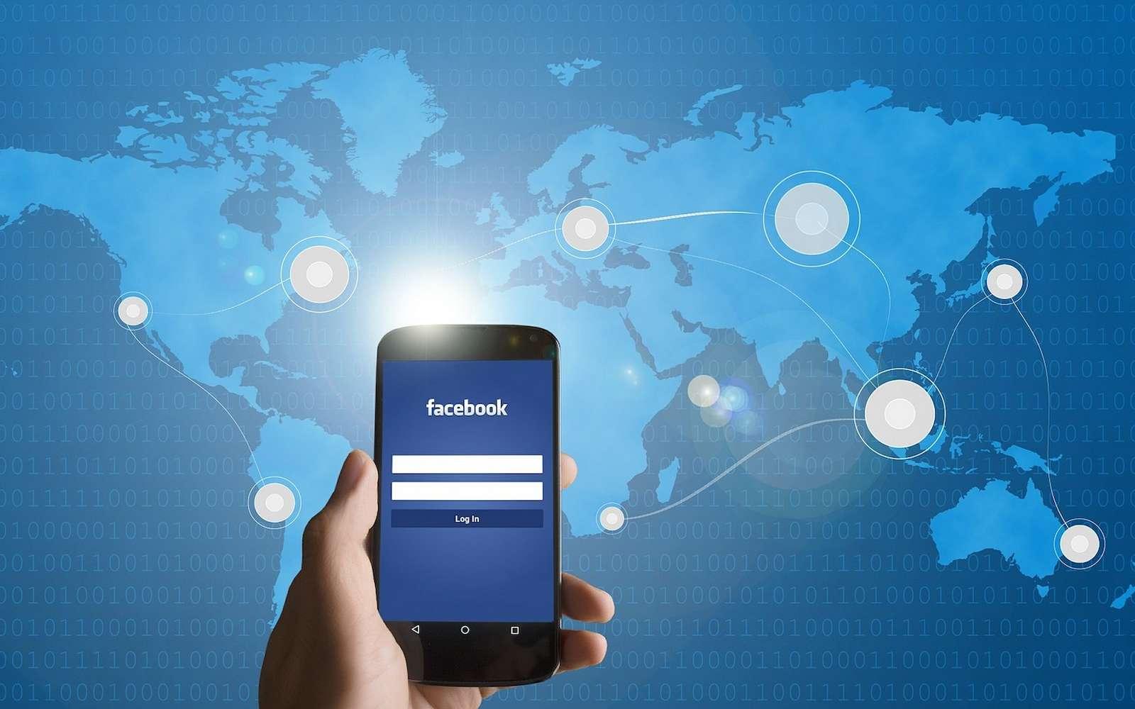 Facebook veut utiliser votre géolocalisation pour anticiper vos mouvements et vos centres d'intérêt © Edar, Pixabay