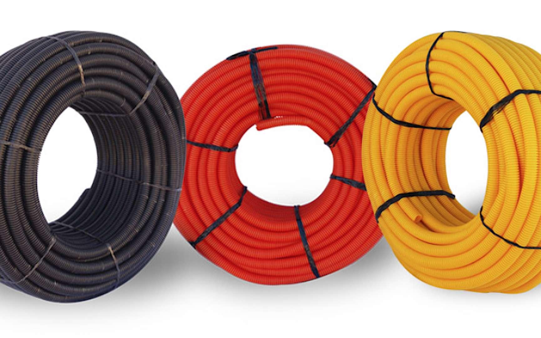 L'usage de la couleur des gaines électriques doit être respecté. © Batelec
