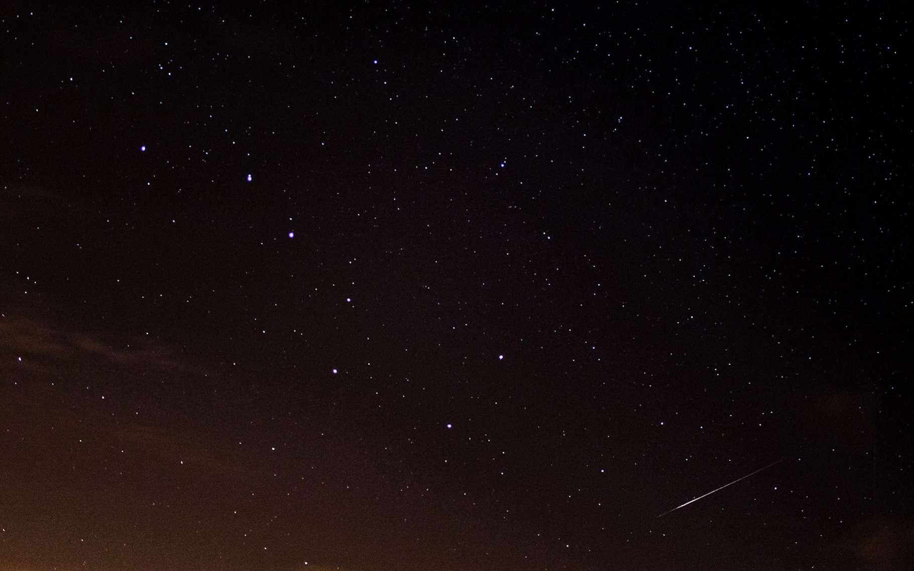 La constellation de la Grande Ourse est reconnaissable entre toutes par sa forme de casserole. © Gp photography, Fotolia