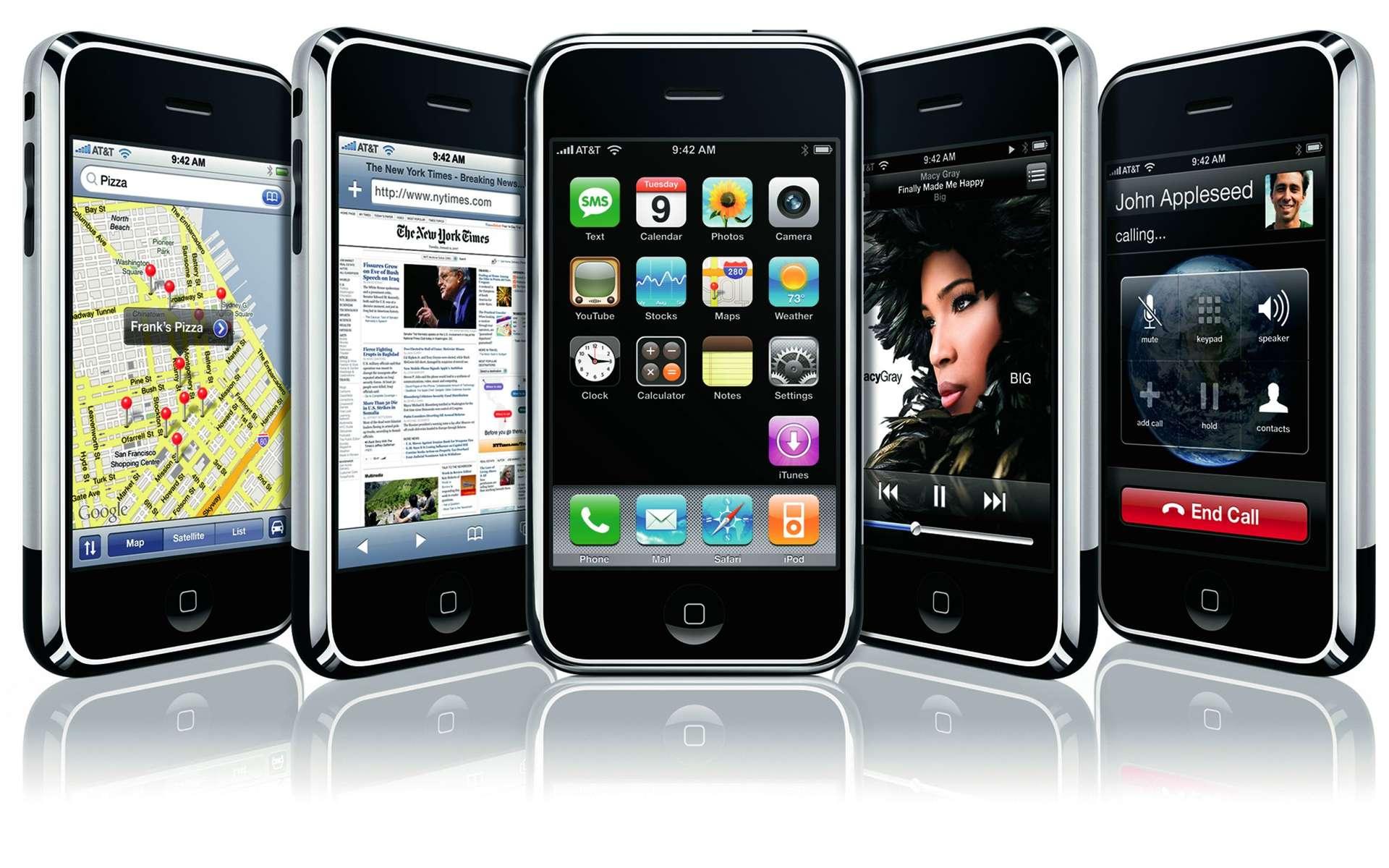 Dehors, rien ne change mais de nouvelles fonctions apparaissent. © Apple