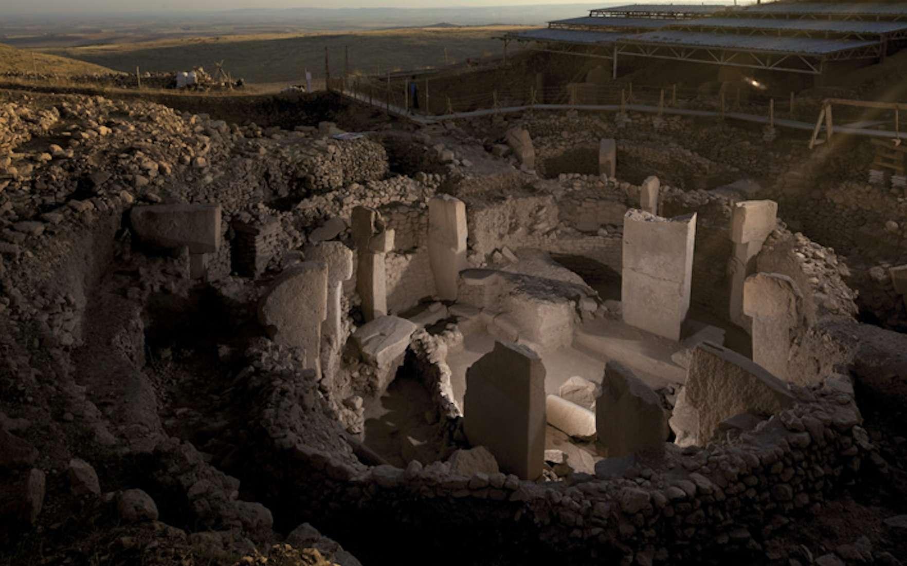 Dans le sud-est de la Turquie, les bâtiments sur le site de Göbekli Tepe ont plus de 11.000 ans. © Vincent J. Musi