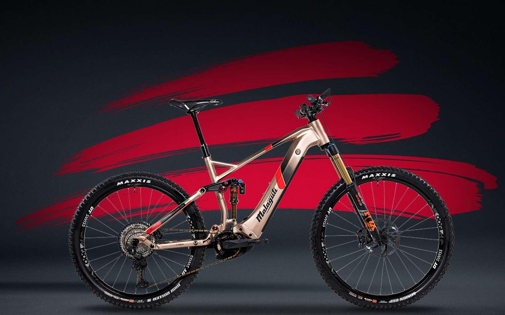 Malaguti est la dernière marque de moto à se lancer sur le créneau du vélo électrique. © Malaguti
