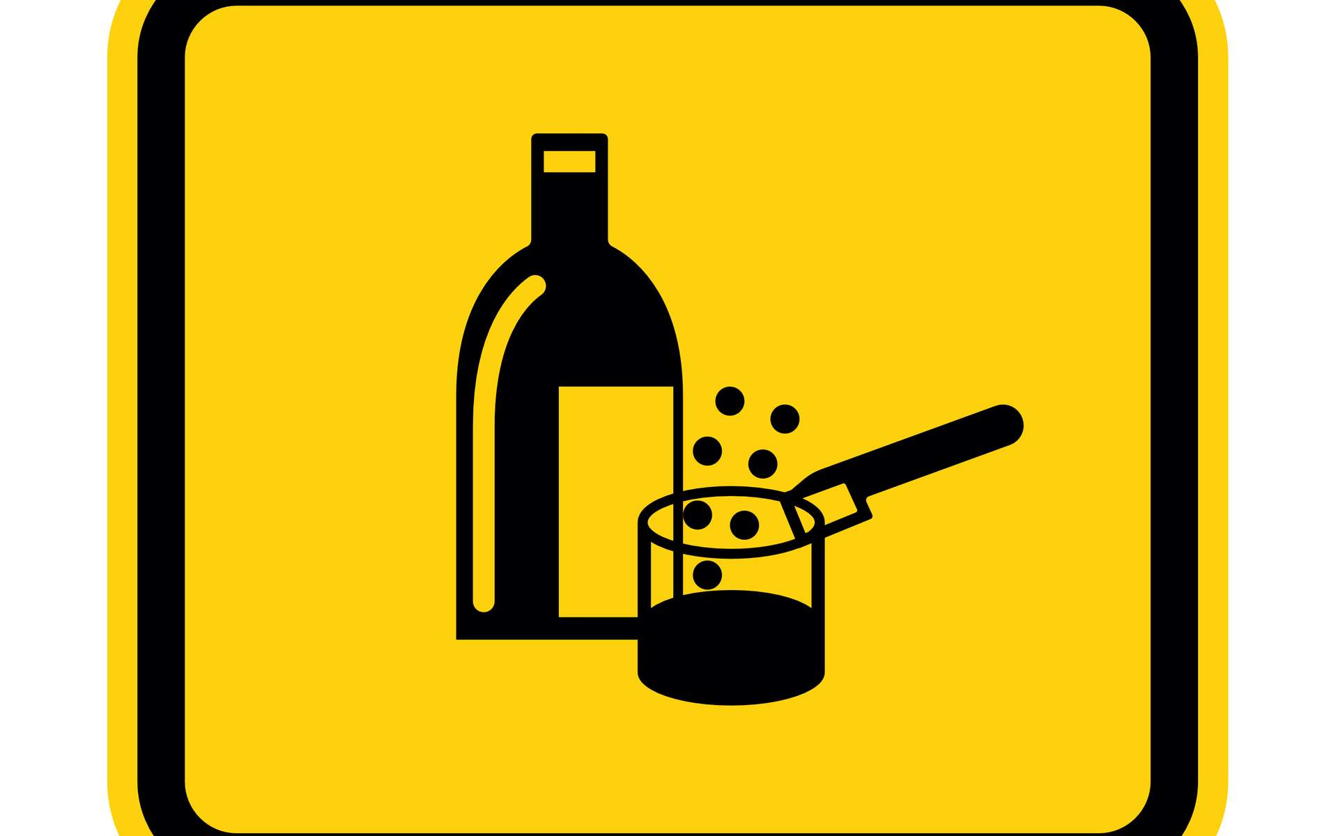 L'acide sulfurique est extrêmement acide et corrosif. © Seetwo, Adobe Stock