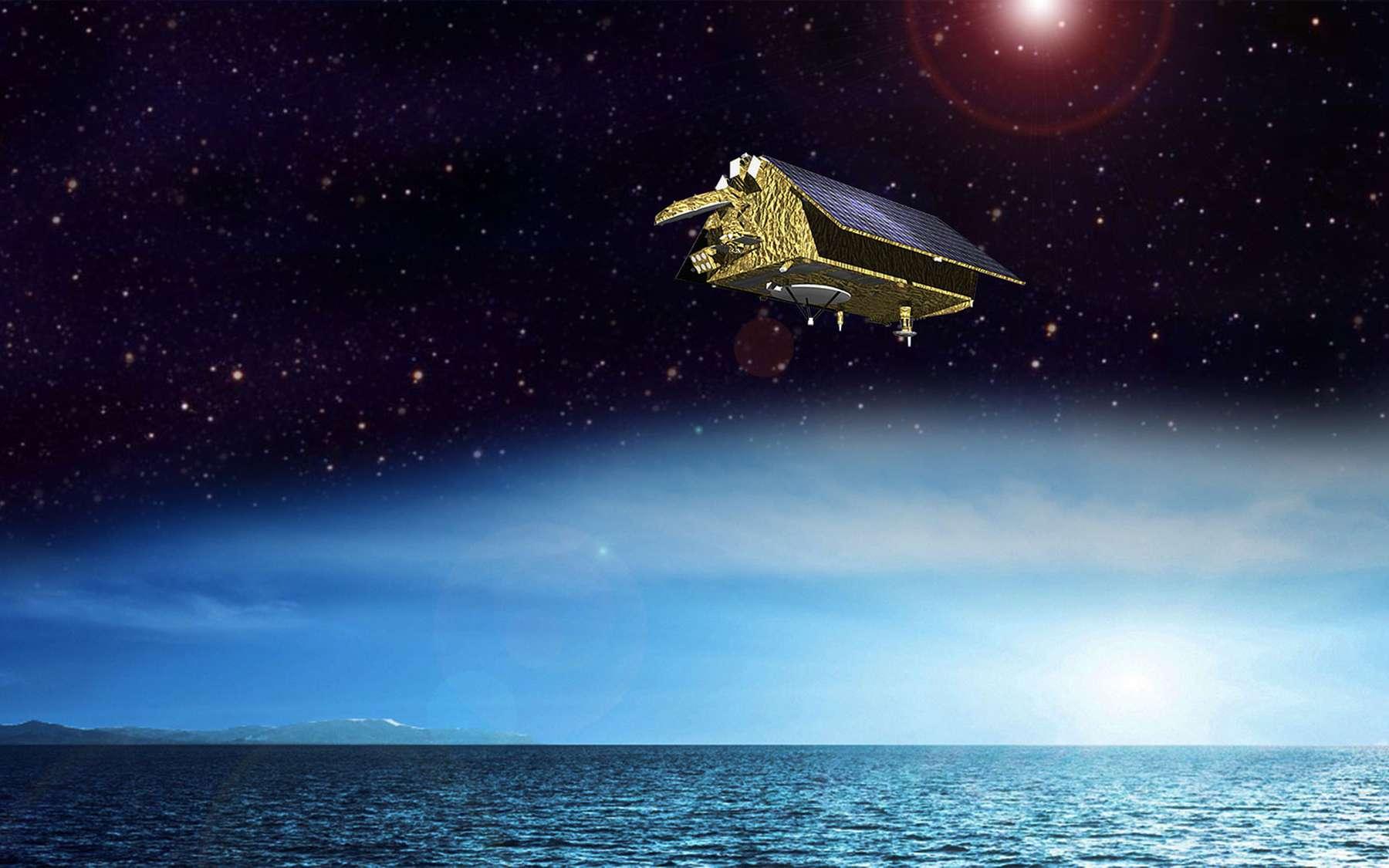Les futurs satellites Sentinel 6 fourniront des mesures de haute précision sur la topographie de la surface des océans. © Airbus Defence and Space