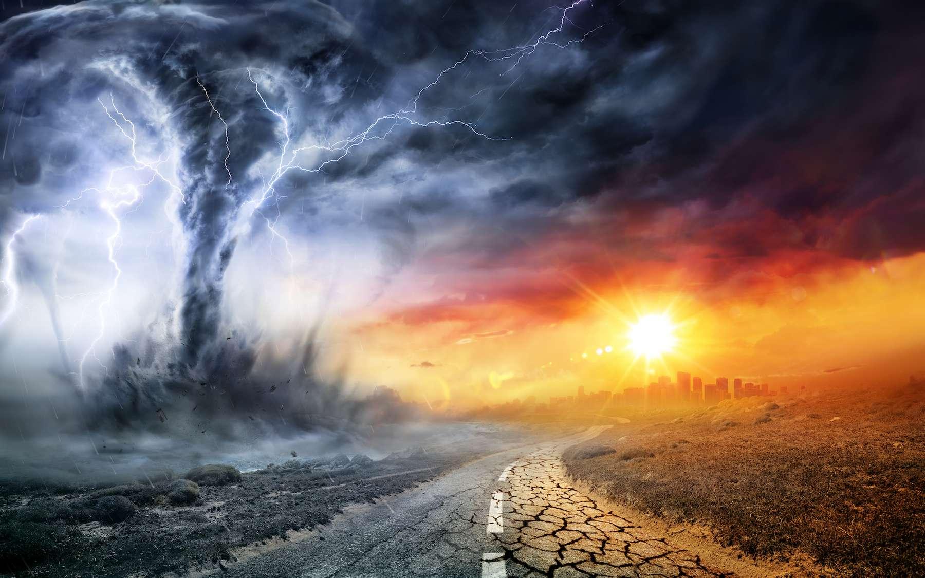 Le réchauffement climatique accroît les phénomènes météorologiques intenses. © Romolo Tavani, Adobe Stock