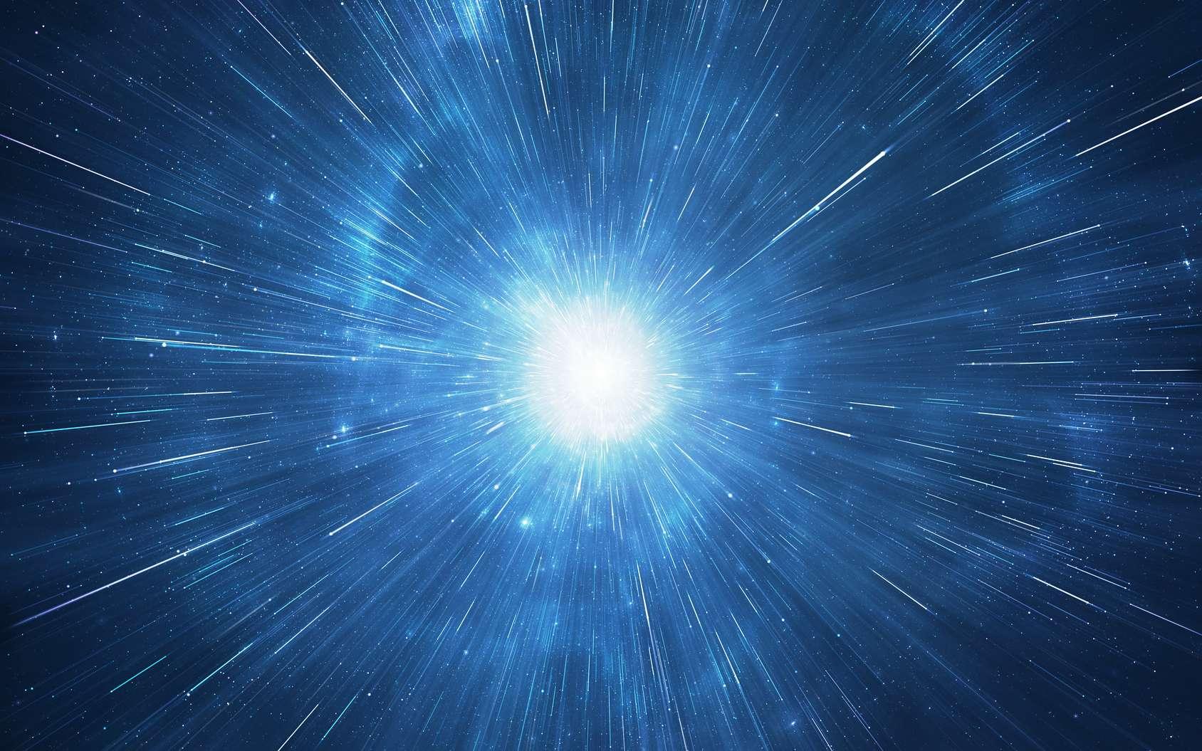 Dans la saga Star Wars, le Faucon Millenium peut passer en « vitesse lumière » et plonger dans l'hyperespace. Le personnage Han Solo dit d'ailleurs de son vaisseau qu'il est « le plus rapide de la galaxie ». Mais peut-on réellement voyager à la même vitesse – voire plus vite – que la lumière ? © pixel, fotolia
