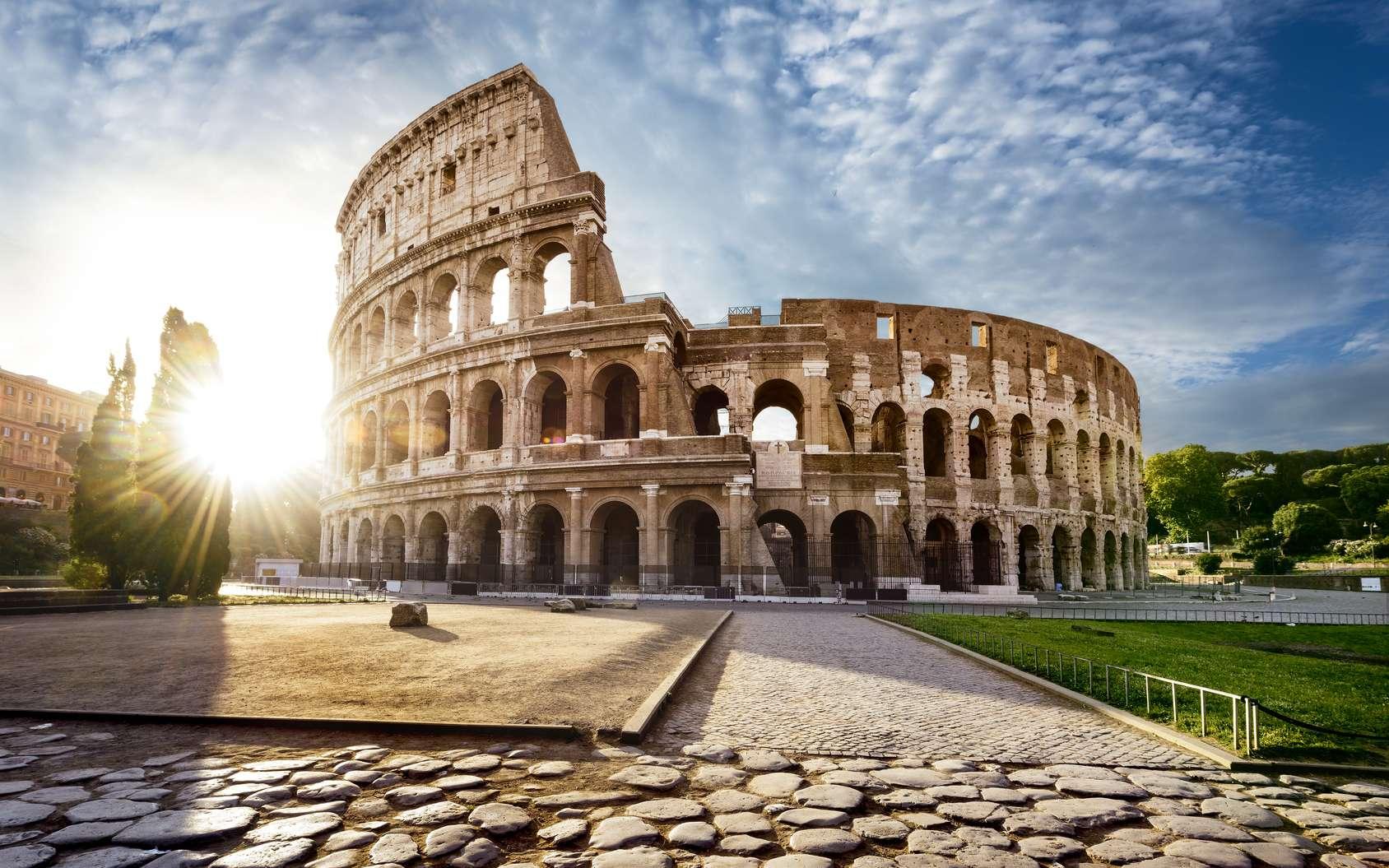 Le Colisée de Rome, emblème de la ville éternelle depuis près de 2.000 ans. © beatrice prève, fotolia