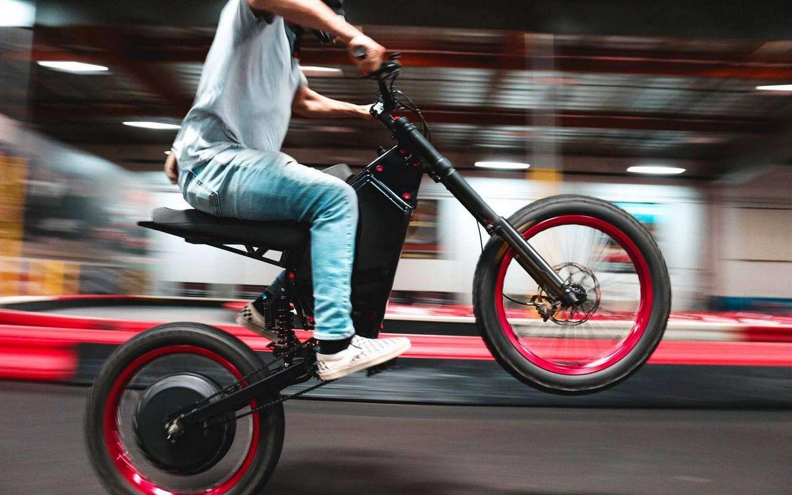 Le CAB Recon est un vélo électrique hors norme. © CAB Motorworks