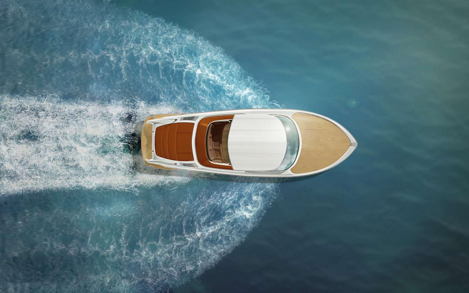 Un bateau avance sur l'eau de manière d'autant plus efficace que le frottement entre sa coque et l'eau est faible. Réduire cette traînée permettrait de réaliser d'importantes économies d'énergie. © emiliau, Fotolia