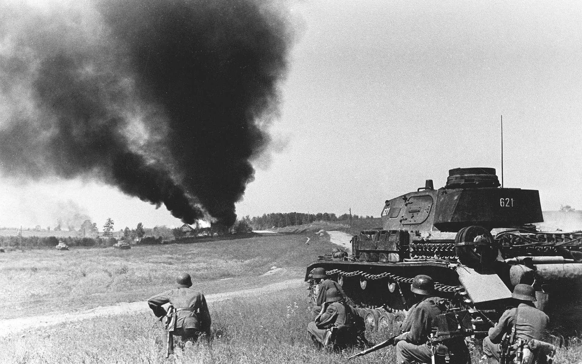L'opération Barbarossa tient son nom de l'empereur Frederic Barberousse. L'invasion de la Russie par l'Allemagne nazie débute en juin 1941. © Ezekiel 31 truth, Google Images