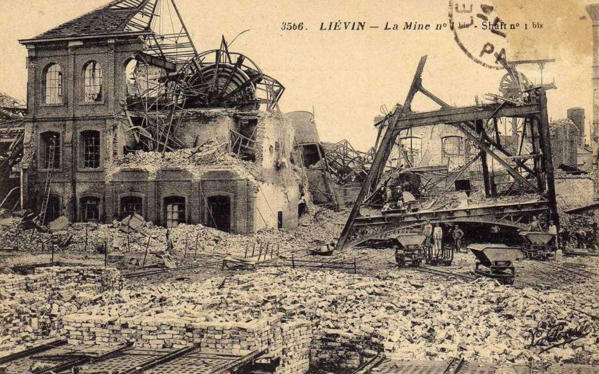 En France, près de 370.000 bâtiments ont été intégralement détruits lors de la guerre 14-18. © Wikimedia Commons, Domaine Public