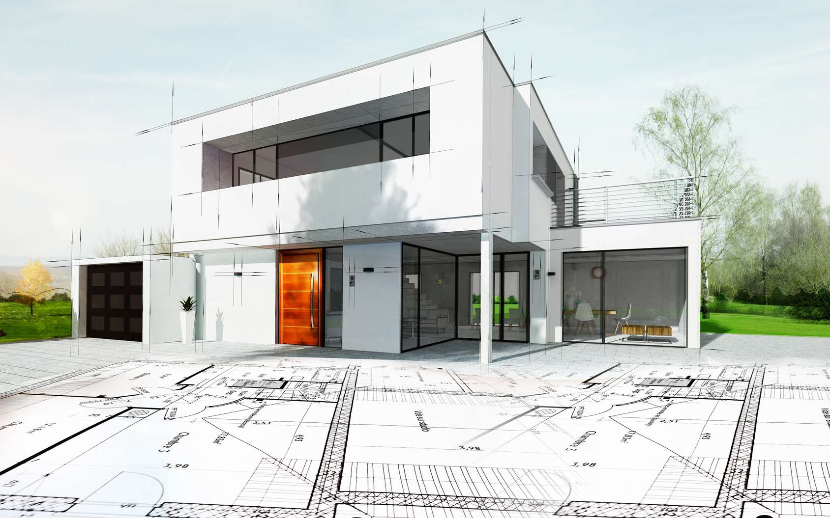 Il y a plusieurs manières d'agrandir sa maison sans être obligé de déménager.