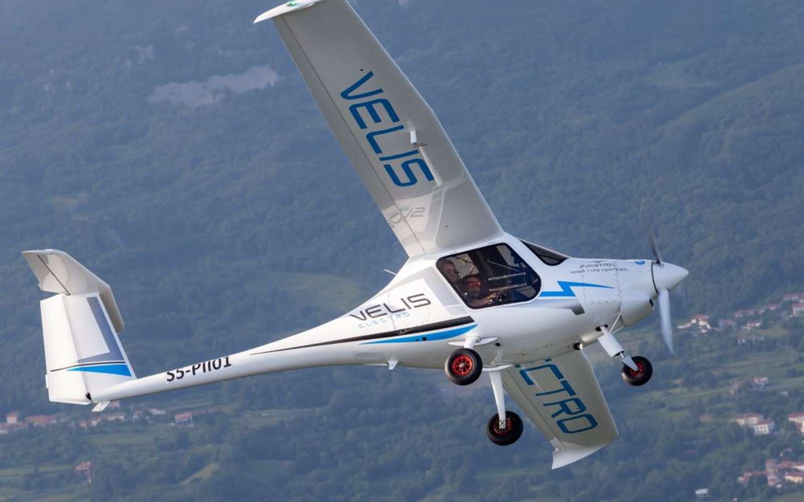 Voici le premier avion 100 % électrique certifié par la sécurité aérienne européenne. © Pipistrel