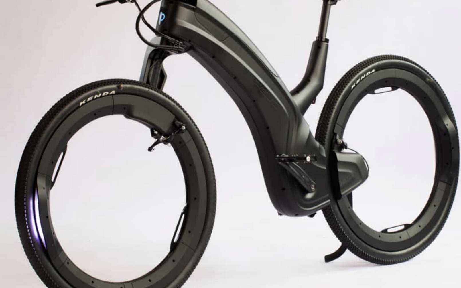 Le Reevo ne ressemble à aucun autre vélo électrique. © Beno Technologies