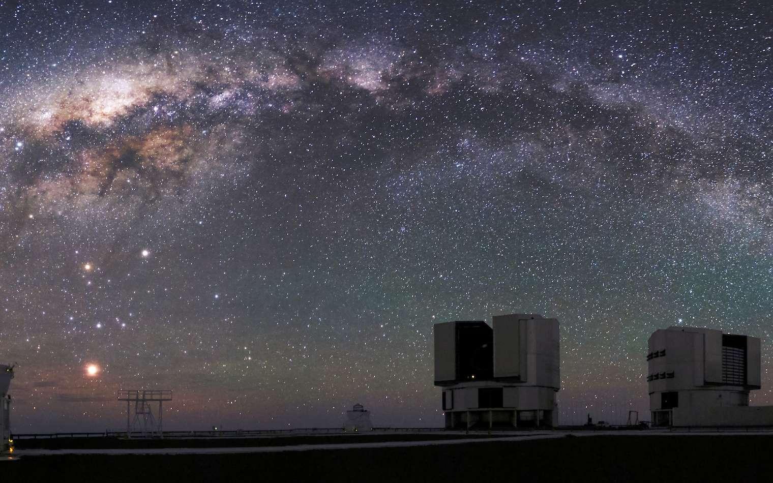 Fascinante Voie lactée. © VLT/ESO