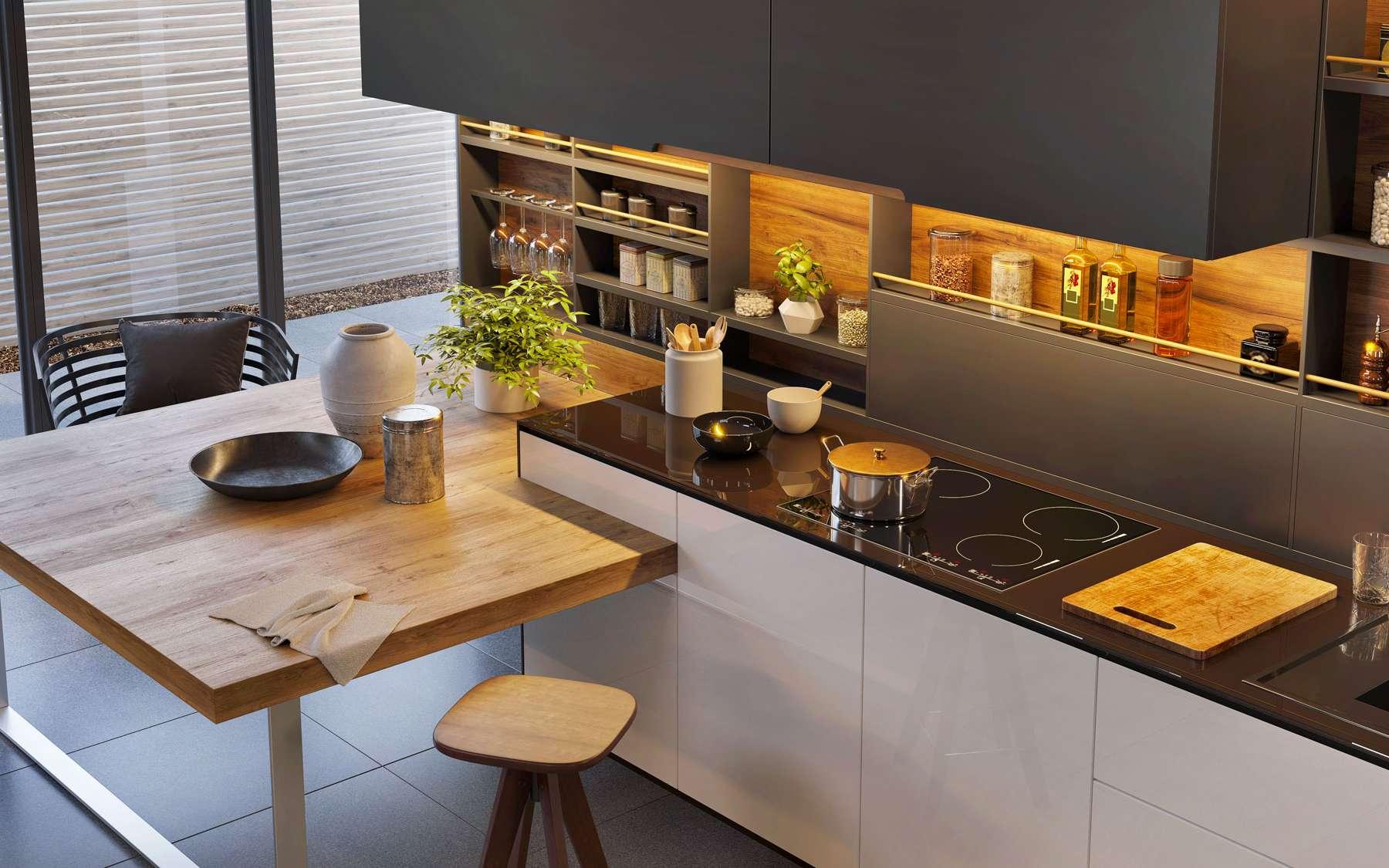 Futura sciences vous présente le prix d'une cuisine. © Slavun, Adobe Stock