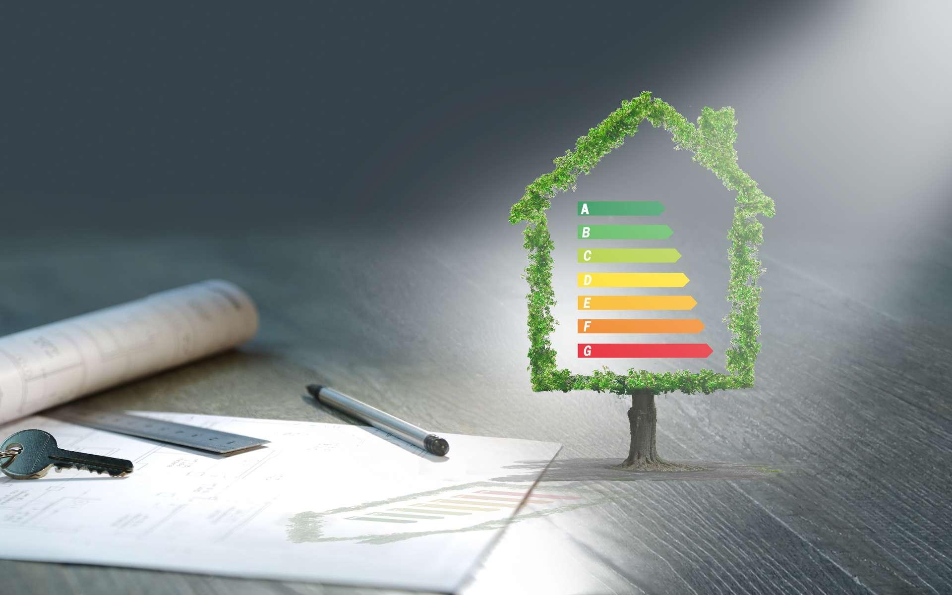 Echelle du Diagnostic Performance Energétique ou DPE © guy, Adobe Stock
